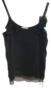 Calvin Klein 1920s Retro Top Black