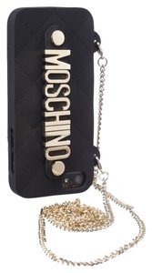 Moschino gold chain rubber iPhone 5 case