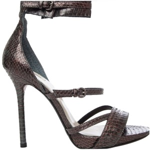 Max Studio CHARCOAL/COPPER Sandals