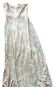 Gray, Taupe, Pink Maxi Dress by The Limited