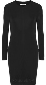 T by Alexander Wang Open Crepe Dress