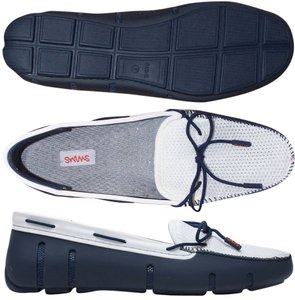 Swims Lace Loafers W's navy Flats