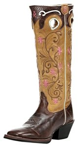 Tony Lama Travis Western Browns Boots
