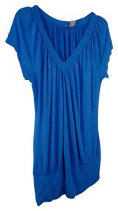 American Dream 1x 14/16 V-neck Top Blue