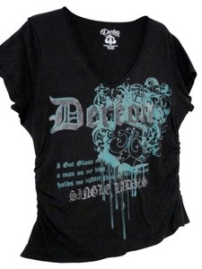 House of Deréon Beyonce Single Ladies 1x 14/16 T Shirt Black