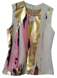 Reed Krakoff Top Cream/Pink