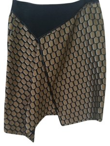 Reed Krakoff Skirt Gold/Black