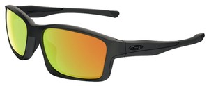 Oakley Oakley Black w/Green Lens OO9247-03 Sunglasses