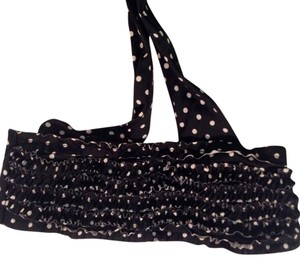 Victoria's Secret Polka-Dot Ruffle Bandeau Bikini Top