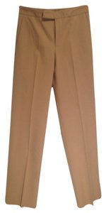 Gucci Wide Leg Pants Camel