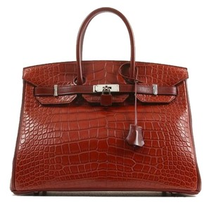 Hermès Satchel in Rouge
