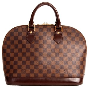 Louis Vuitton Alma Tote in Brown