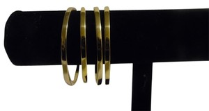 Technibond Technibond 14K Gold Over Sterling Silver Bangle Set