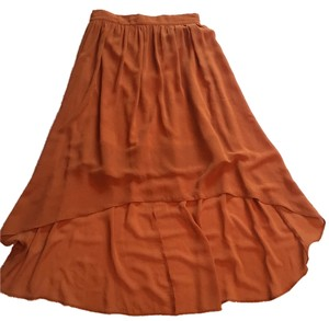 Miss Selfridge Skirt Brown