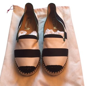 Pinko Black, white, green Flats