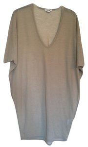 Helmut Lang Tunic Going Out T Shirt Taupe