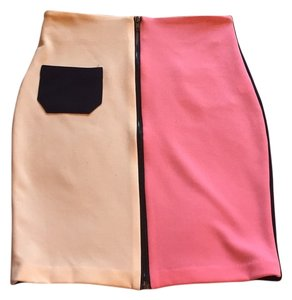 Chelsea orchid London Skirt Pink, white, navy, black