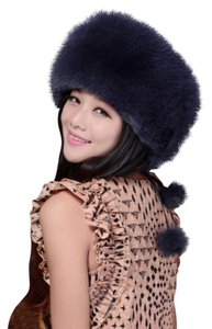 Neiman Marcus Fox Fur Hat