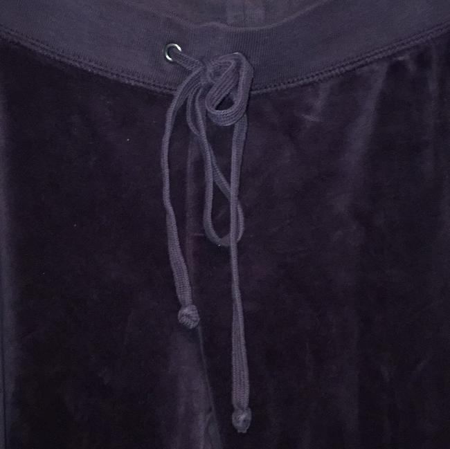 Juicy Couture Velour Track Trendy Relaxed Pants Purple