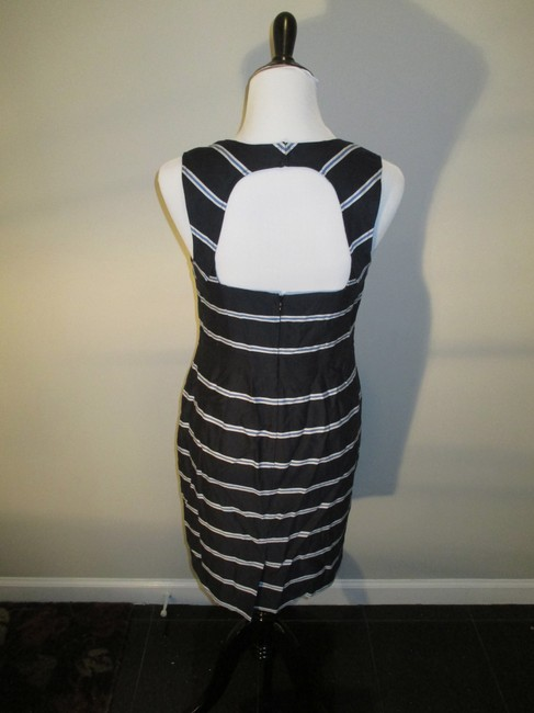 Ann Taylor short dress Navy Open Back Stripes Striped Nautical on Tradesy