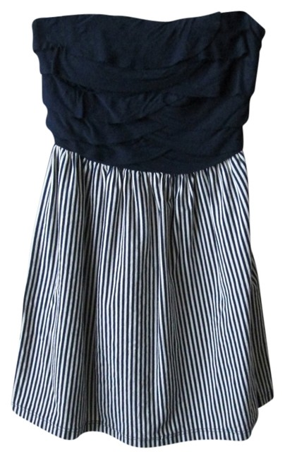 Modcloth short dress Navy Blue Nautical on Tradesy