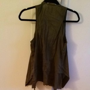 Urban Outfitters Top Olive Green Top