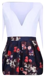 Other short dress White/Floral Party Cocktail Date Night Dance Wedding on Tradesy