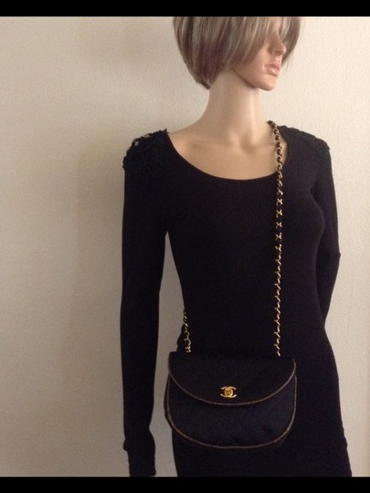 Chanel Rare Vintage Flap Mini Cross Body Bag
