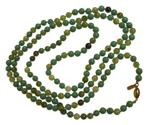 Kenneth Jay Lane Kenneth Lane shades of jade beaded