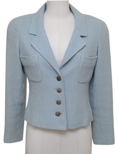Chanel Light Blue Blazer