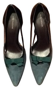 Ann Taylor Suedeheels Emerald green Pumps