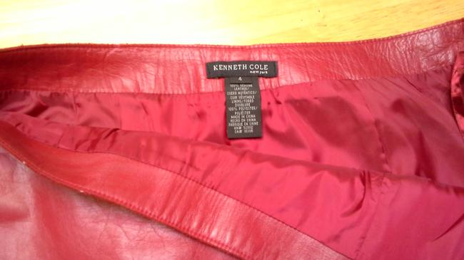 Kenneth Cole Skirt Cherry red