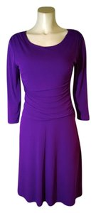 En Focus Studio Size Stretchy Knee Length P1604 Dress