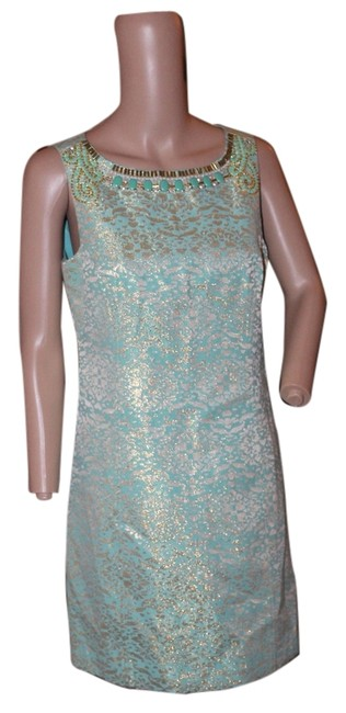 Preload https://item5.tradesy.com/images/laundry-by-shelli-segal-green-and-ivory-short-cocktail-dress-size-4-s-5266909-0-0.jpg?width=400&height=650