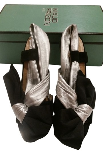 MAUD FRIZON Black & Silver Pumps