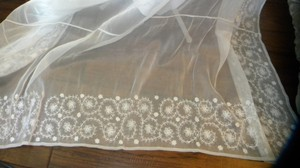 Organza Sheer White Table Cloth