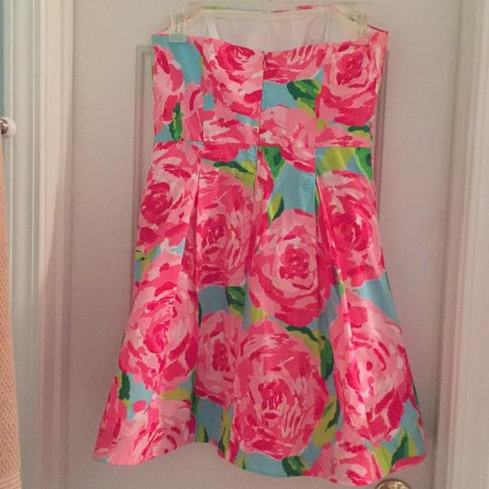 50%OFF Lilly Pulitzer Hotty Pink First Inpression Blossom Dress - 48% Off Retail