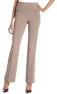 Style & Co Mid Rise 10 Inches Straight Pants taupe