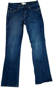 White House | Black Market Size 4 Low Rise P1607 Straight Leg Jeans-Medium Wash
