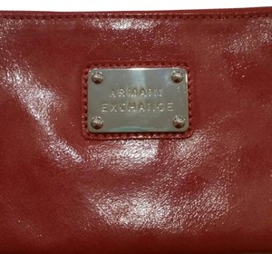 A|X Armani Exchange Red Clutch