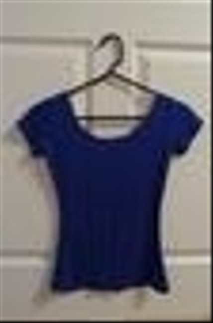 Made in Singapore Top Blue