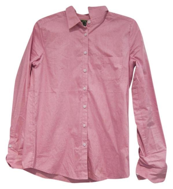 C. Wonder Button Down Shirt Pink