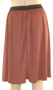 New York & Company Made In The Usa Pull-on Style Skirt Brown