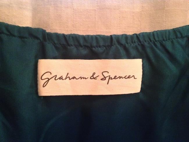 Graham & Spencer short dress teal High Low on Tradesy