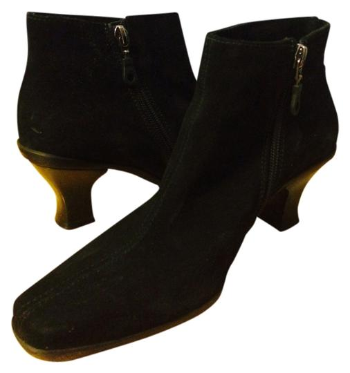 LaCanadienne Black Suede Boots