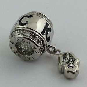 Lauren G Adams Lauren G Adams Rhodium Luck Hand Of God Charm Bead Fits All Brands