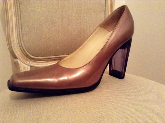Luciano Padovan Brown/bronze Pumps