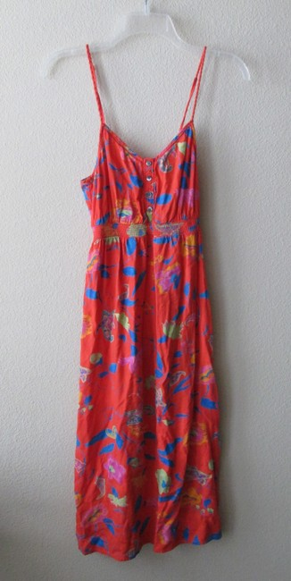 Red/Orange Maxi Dress by Aerie Midi