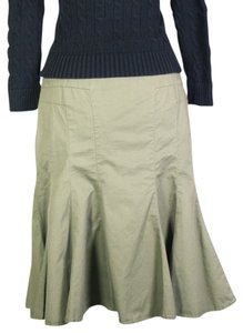Anthropologie Skirt Green