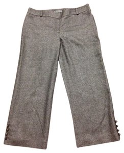 Ann Taylor Capri/Cropped Pants Gray